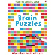 Brain Puzzles Wipe Clean Activity Card