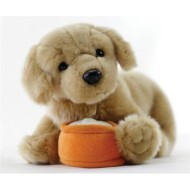 Interactive Plush Golden Retriever