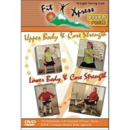 Fit Xpress Strength 2-DVD Pack (pack of 2)