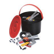Meccano Jr. 150 Piece Bucket (bucket of 151)