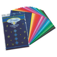 Tissue Paper 12X18  25 Asst Colors (pack of 100)