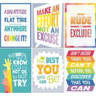 Painted Palette Inspire U 6 Chart Poster Pack (set of 6)