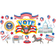 Elections Bulletin Board Set (set of 16)