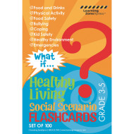 What if: Healthy Living Flashcards (Grades 3-5) (pack of 100)