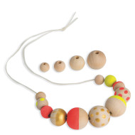Unfinished Wood Beads