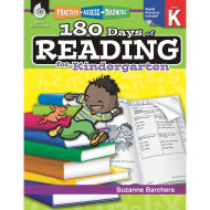 180 Days of Reading Kindergarten
