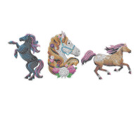 Horse Sticky Mosaics (set of 3)