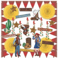 Western Theme Easy Pack (pack of 28)