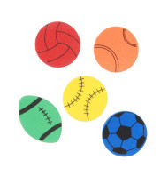 Sport Foamies Stick On 1-1/2 IN (pack of 67)