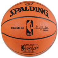 Spalding NBA Official Leather Game Ball