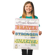 Paint-a-Dot™ Braver...Stronger Poster (makes 12)
