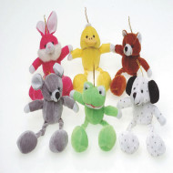 Floppy Leg Animals 8<in/> (pack of 12)