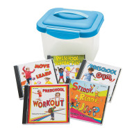Preschool Fitness Fun (set of 5)