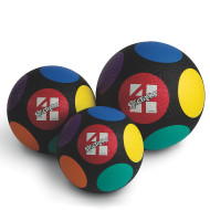 "Spectrum™ Circles 8-1/2"" Diameter Four Square Ball"