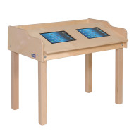 Single-Sided Double Wide Tablet Table