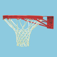 Economy Double-Rim Basketball Goal