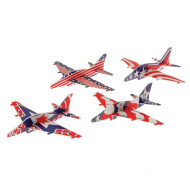 Patriotic Gliders, Pack of 12 (pack of 12)
