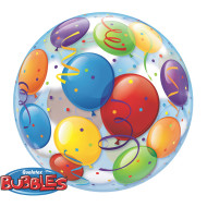 Bubble Balloon: Colorful Balloons 22""