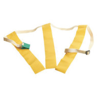 Triple Threat Belt with Yellow Flag - XL