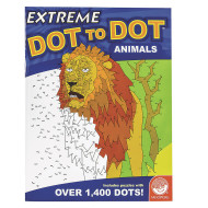 Extreme Dot To Dot Animals Puzzle Book