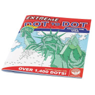 Extreme Dot To Dot Around The USA Puzzle Book