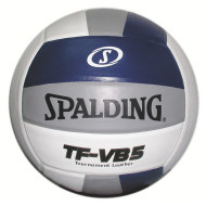 Spalding® Volleyball - Navy, White, & Silver