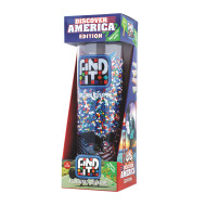 Find It® Tube Game - Discover America