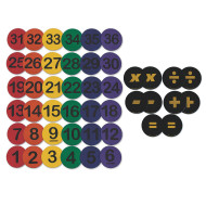 Math Skills and Spot Marker Easy Pack