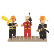 BricTek™ Community Helper Mini Figures
