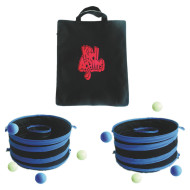 Pong Bounce and Beanbag Toss Game