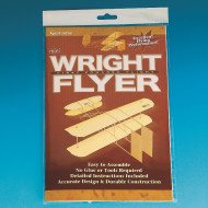 Unassembled Wright Flyer Airplane