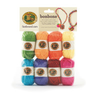 Bonbons® Mini Acrylic Yarn Pack - Crayon Themed (pack of 8)