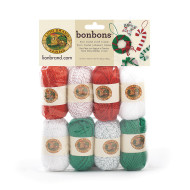 Bonbons® Mini Acrylic Yarn Pack - Jingle Bells Themed (pack of 8)