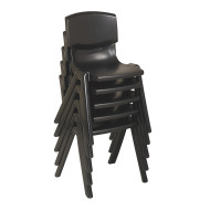"Resin Stack Chairs - 18"" (set of 5)"