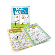 MY PLATE ACTIVITY BOOK (3-6) PK12