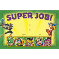 Superheroes Awards (pack of 36)