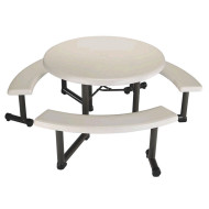 Lifetime Round Picnic Table 44""