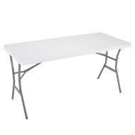 LIFETIME 5FT COMMERICAL FOLDING TABLE