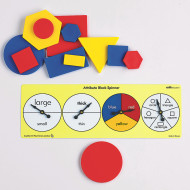 Attribute Block Spinners (set of 6)
