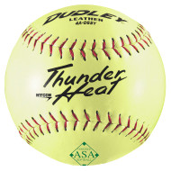 "Dudley® Thunder ASA Slow Pitch Softball Leather 12"" WC12RF"