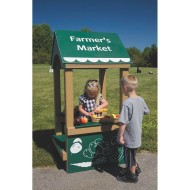 Farmers' Market Play Stand