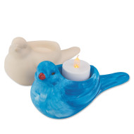 Color-Me™ Bisque Bird Tealight (makes 12)