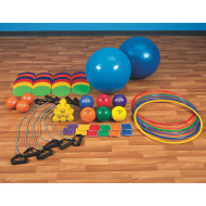 Bronze Equipment Pack for Focused Fitness Five for Life® Basic or <NEWLINE>Intermediate Curriculum