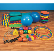 Silver Equipment Pack for Focused Fitness Five for Life® Basic or <NEWLINE>Intermediate Curriculum