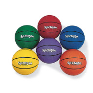 Spectrum™ Rubber Basketball - Intermediate
