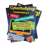 Bully in a Cyber World Poster Set, Grades 2-5