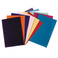 "Felt Sheet Pack, Rectangular, 9"" x 12"", Assorted Colors"