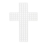 "Plastic Canvas Cross, 3"" (pack of 30)"