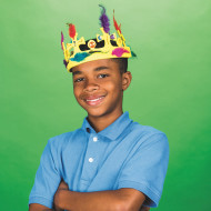 Super Foam Crowns Craft Kit  (makes 12)