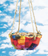 Faux-Raku Bird Feeder Craft Kit (makes 24)